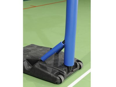 PROTEZIONE DI SICUREZZA sp 22 mm IGNIFUGA CL1-  Per pali Volley e Basket